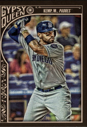 Photo of 2015 Topps Gypsy Queen #38 Matt Kemp