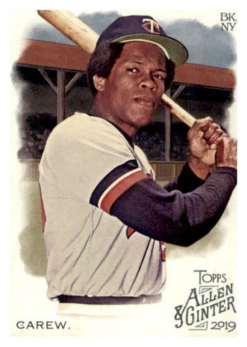 Photo of 2019 Topps Allen and Ginter #115 Rod Carew