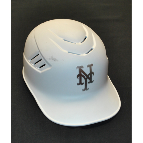 "Photo of Gary ""DiSAR"" DiSarcina New York Mets Game-Used 2019 Players' Weekend Helmet"