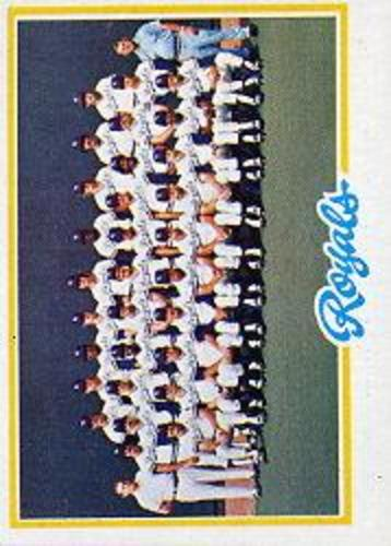 Photo of 1978 Topps #724 Kansas City Royals CL