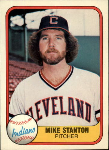 Photo of 1981 Fleer #400 Mike Stanton RC
