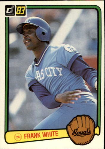 Photo of 1983 Donruss #464 Frank White
