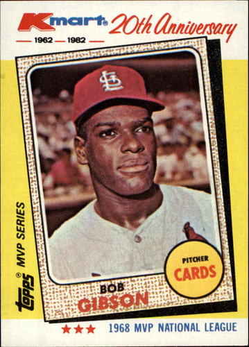 Photo of 1982 K-Mart #14 Bob Gibson: 68NL