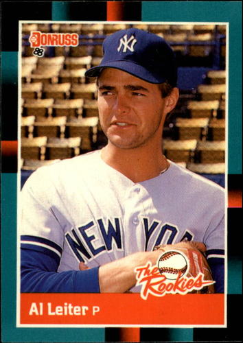 Photo of 1988 Donruss Rookies #27 Al Leiter