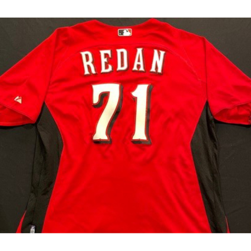 Photo of REDAN -- Authentic Reds Jersey -- $1 Jersey Auction -- $5 Shipping -- Size 46 (Not MLB Authenticated)