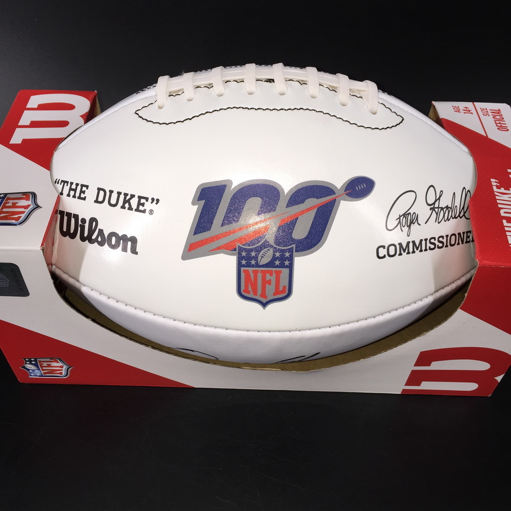 NFL - Colts Quenton Nelson Signed Panel Ball