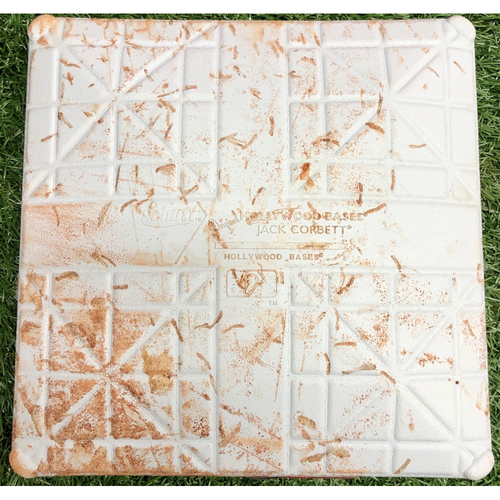 Photo of Rays Baseball Foundation: Game Used Third Base (Innings 1-3) - ALDS Game 3 & 4 - October 7-8, 2019 v HOU