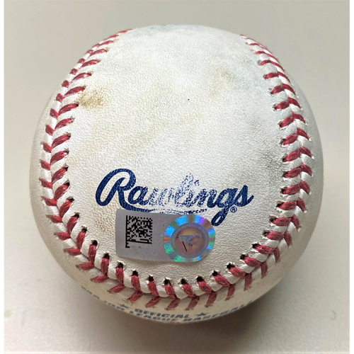Photo of Game-Used Baseball: Jon Lester Chicago Cubs Strikeout (MLB AUTHENTICATED)