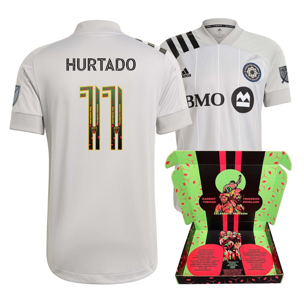 Erik Hurtado CF Montreal Player-Issued & Signed
