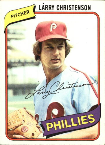 Photo of 1980 Topps #161 Larry Christenson