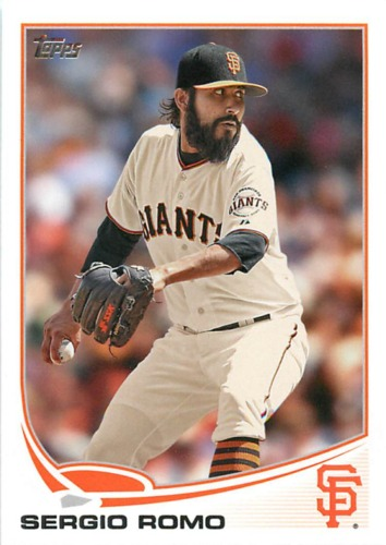 Photo of 2013 Topps #154 Sergio Romo
