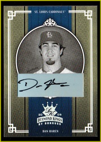 Photo of 2005 Diamond Kings Signature Silver B/W #212 Dan Haren/50