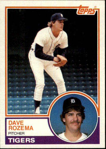 Photo of 1983 Topps #562 Dave Rozema