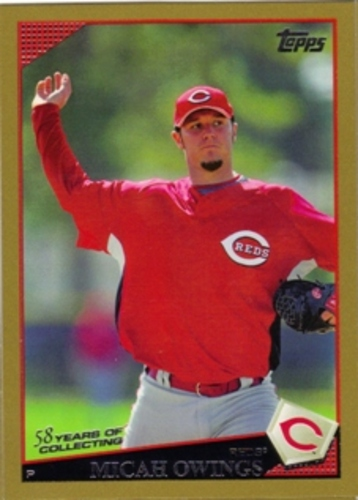 Photo of 2009 Topps Gold Border #598 Micah Owings