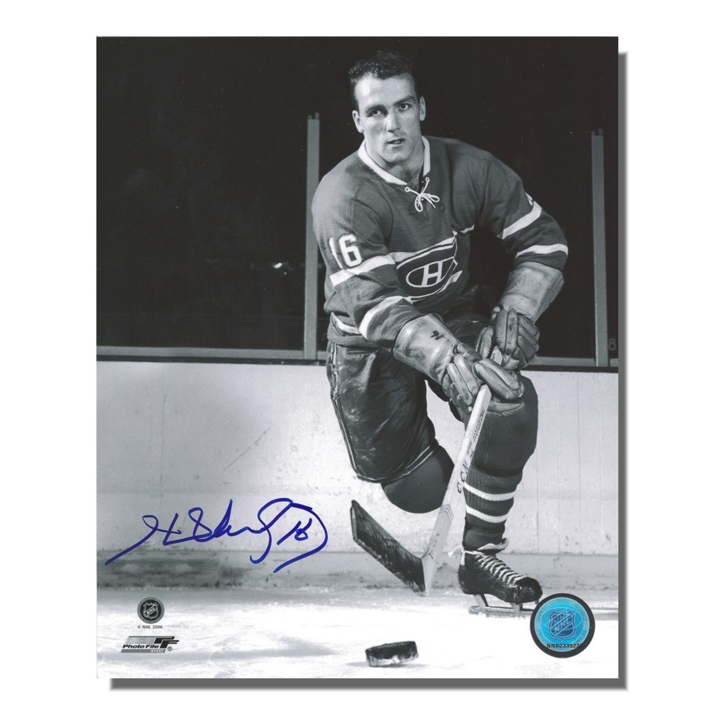 Henri Richard Autographed Montreal Canadiens 8x10 Photo