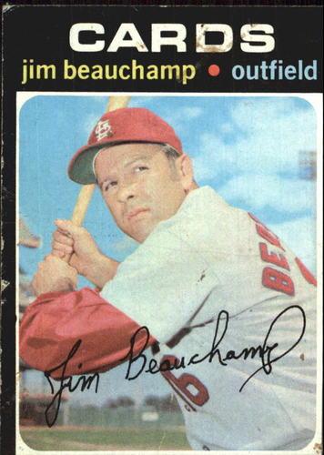 Photo of 1971 Topps #322 Jim Beauchamp