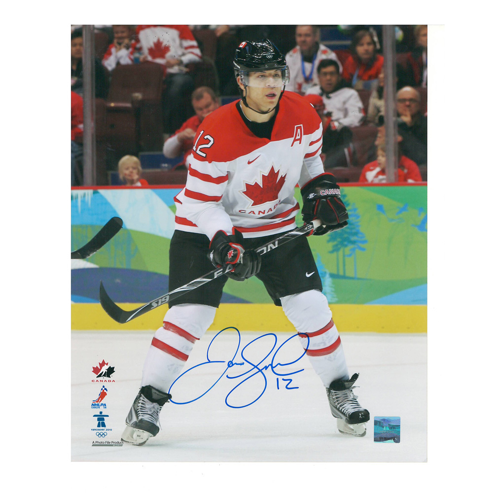 JAROME IGINLA Signed 2010 Team Canada 8 X 10 Photo - Calgary Flames