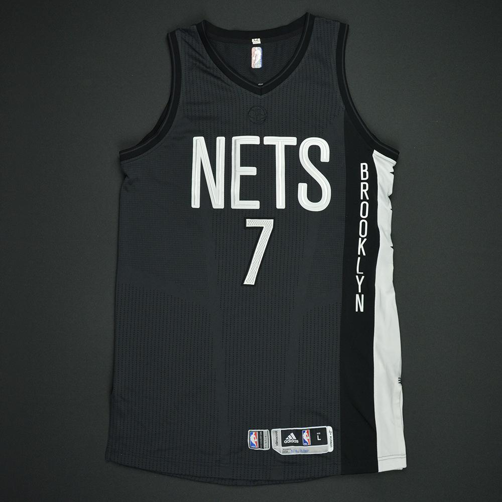 ... purchase jeremy lin brooklyn nets game worn black alternate jersey 1st  half only 79d52 c5517 ef9335935