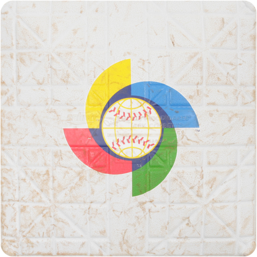 2013 WBC: Round 1 - Japan vs. Cuba Game-Used 3rd Base