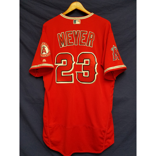 Alex Meyer Team-Issued Alternate Red Jersey