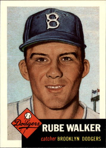 Photo of 1991 Topps Archives 1953 #134 Rube Walker