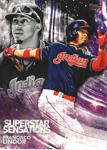 Photo of 2018 Topps Superstar Sensations #SSS35 Francisco Lindor