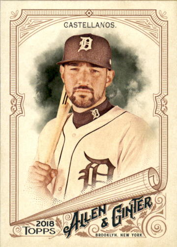 Photo of 2018 Topps Allen and Ginter #86 Nicholas Castellanos