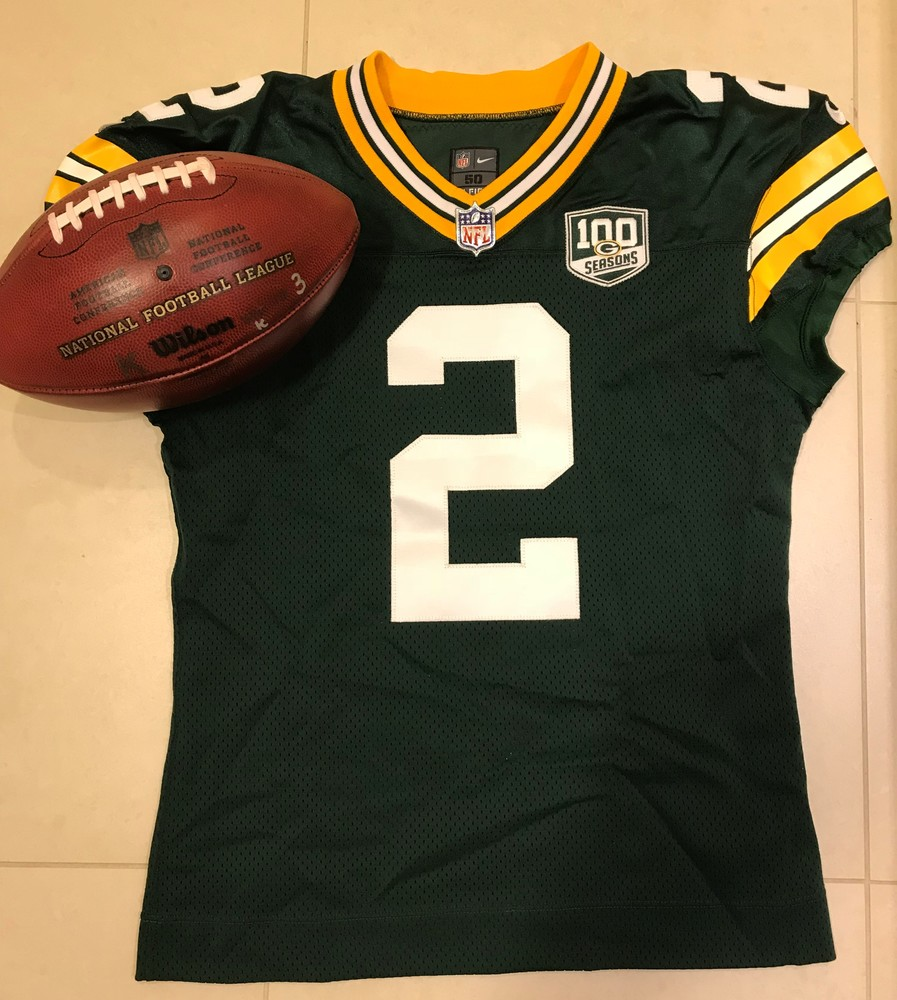 wholesale dealer 6347f 98e57 NFL Auction | STS - Packers Mason Crosby GAME WORN Jersey ...