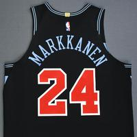 Lauri Markkanen - Chicago Bulls - Game-Worn City Edition Jersey - 2018-19 Season