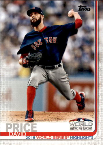 Photo of 2019 Topps #314 David Price WSH