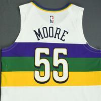 E'Twaun Moore - New Orleans Pelicans - Game-Worn City Edition Jersey - 2018-19 Season