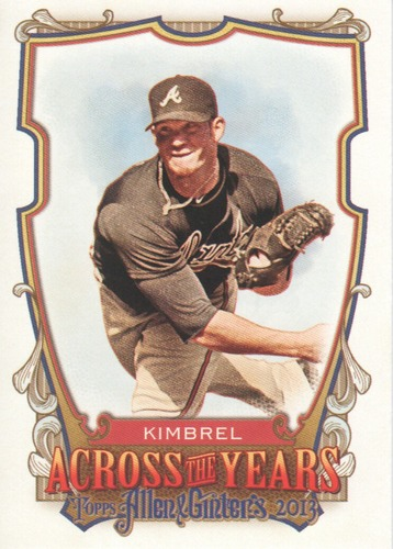 Photo of 2013 Topps Allen and Ginter Across the Years #CK Craig Kimbrel
