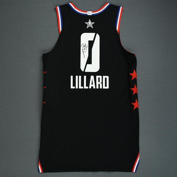timeless design c8e53 45aa6 Damian Lillard - 2019 NBA All-Star Game - Team LeBron ...