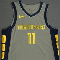 Mike Conley - Memphis Grizzlies - 2019 Taco Bell Skills Challenge - Game-Issued City Edition Jersey