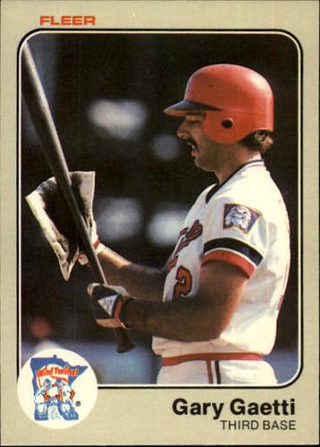 Photo of 1983 Fleer #613 Gary Gaetti RC