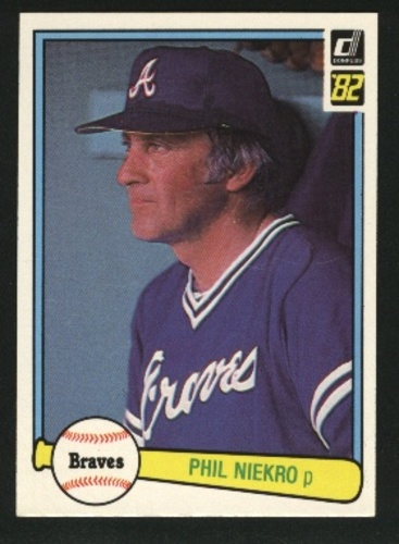 Photo of 1982 Donruss #475 Phil Niekro