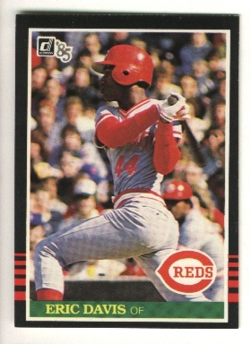 Photo of 1985 Donruss #325 Eric Davis RC