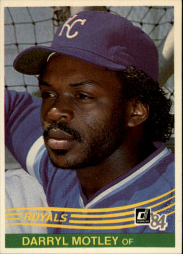Photo of 1984 Donruss #344 Darryl Motley