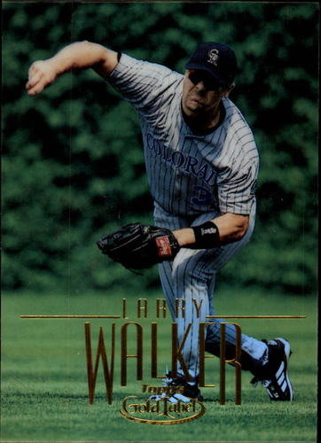 Photo of 2002 Topps Gold Label #45 Larry Walker