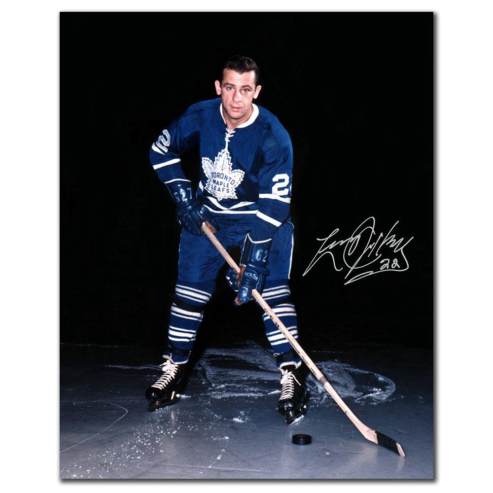Larry Jeffrey Toronto Maple Leafs Autographed 8x10
