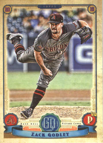 Photo of 2019 Topps Gypsy Queen #177 Zack Godley