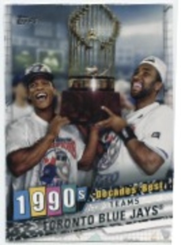 Photo of 2020 Topps Decades' Best Series 2 #DB76 Toronto Blue Jays