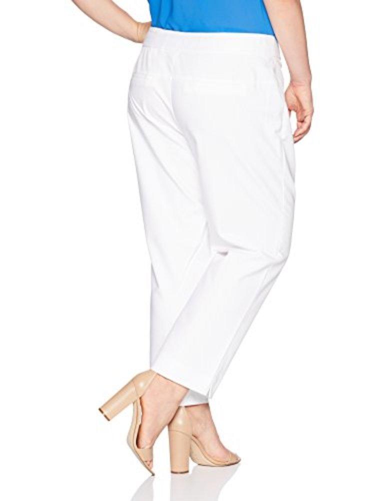 Photo of NINE WEST Women's Size Plus Double Weave Classic Pant