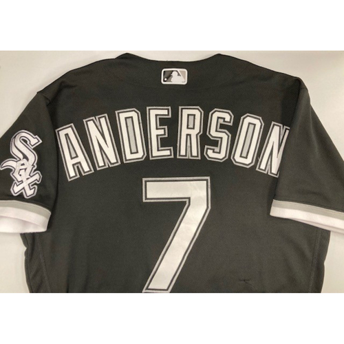 Photo of Tim Anderson 2020 Game-Used Spring Training Jersey - Size 42