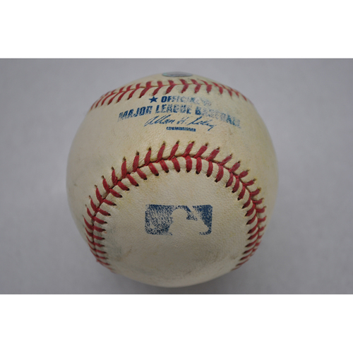 Photo of Game-Used Baseball - 4/4/03 - TOR at MIN - Minnesota Twins Opening Day