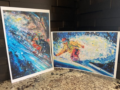Photo of Colorado Ski Art Prints