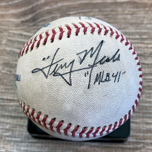 Photo of UMPS CARE AUCTION: Game Ready Crew Signed Baseball From Joe Musgrove No-Hitter