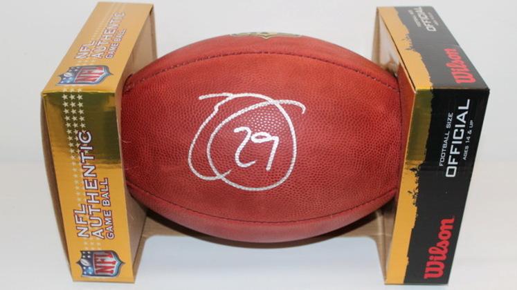 NFL - SEAHAWKS EARL THOMAS SIGNED AUTHENTIC FOOTBALL