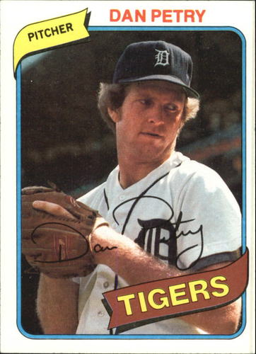 Photo of 1980 Topps #373 Dan Petry DP RC