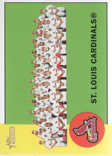 Photo of 2012 Topps Heritage #114 St. Louis Cardinals TC